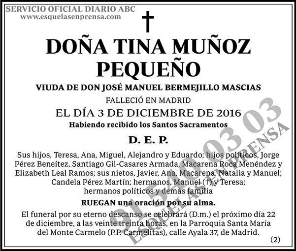Tina Muñoz Pequeño
